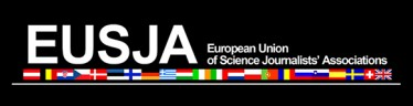 European Union of Science Journalists' Association (EUSJA) logo