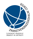Scientific Research Centre of the Slovenian Academy of Sciences and Arts, Institute of Philosophy (ZRC SAZU) logo